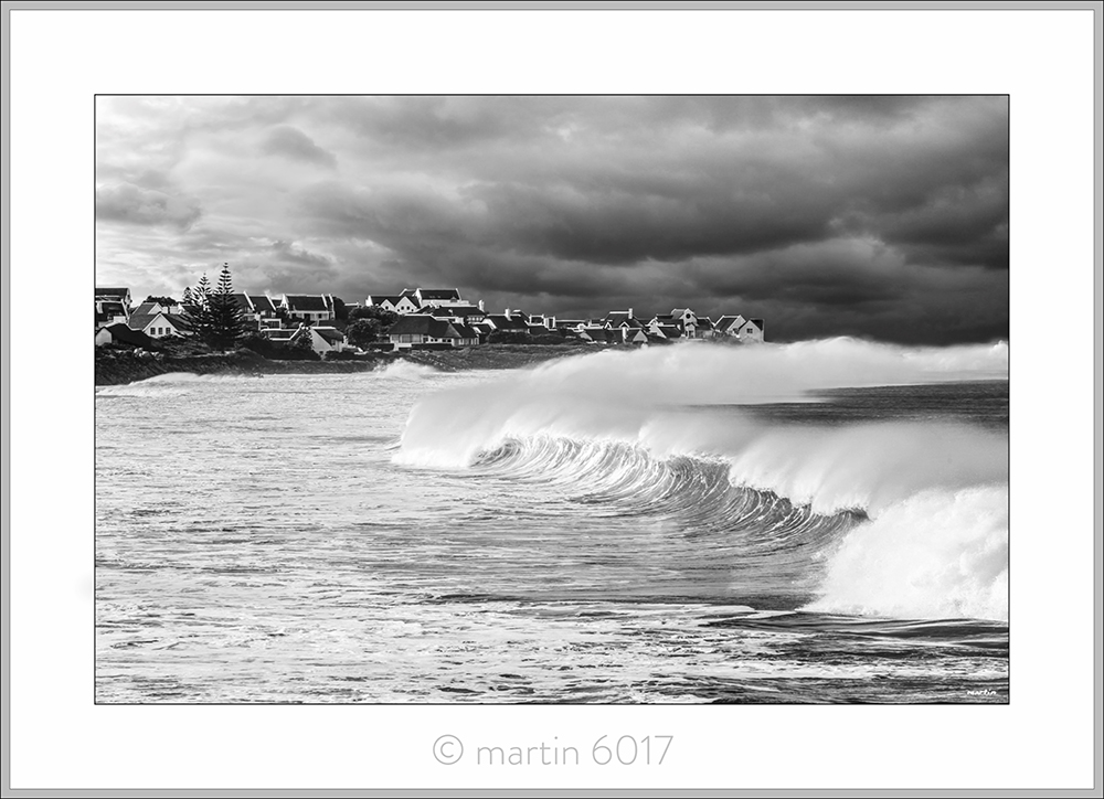 Winter Swells B&W