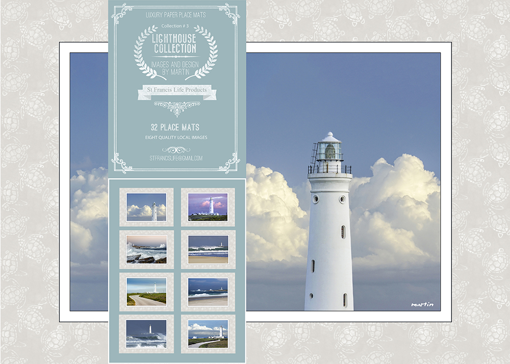 Disposable Place Mats - Lighthouse Collection