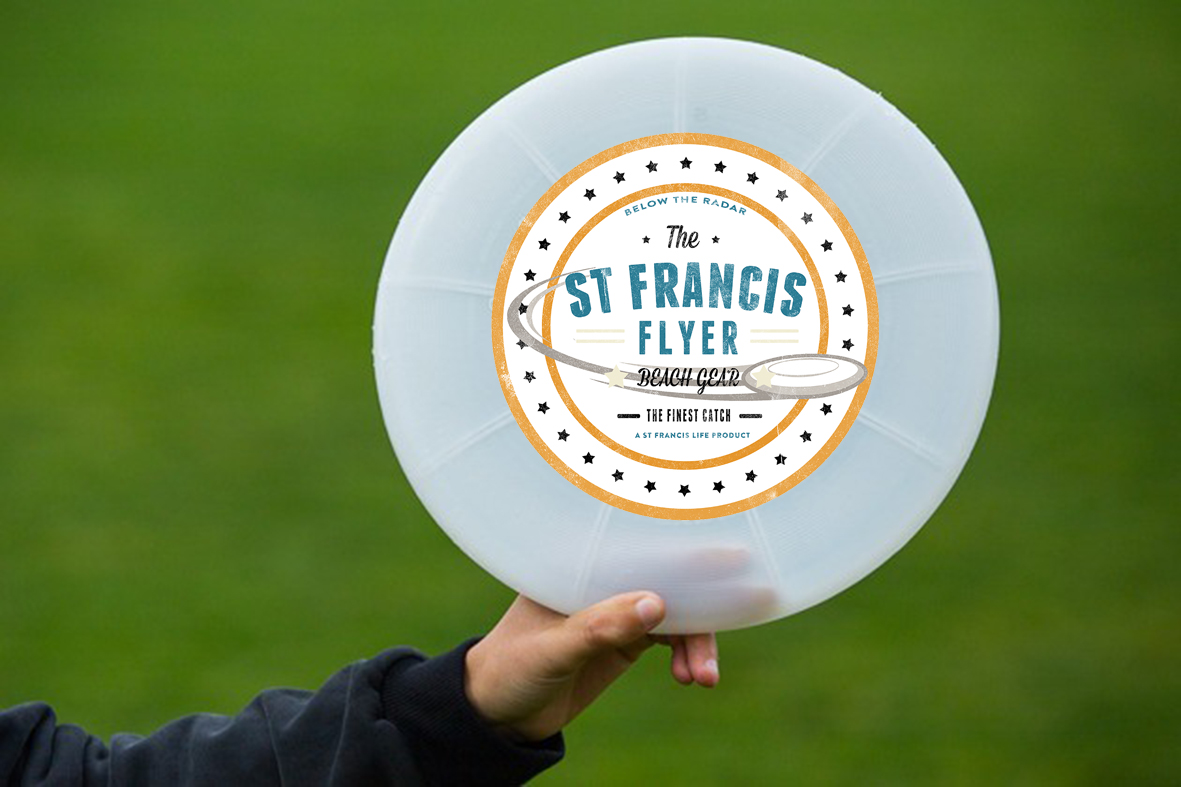 St Francis Frisbee