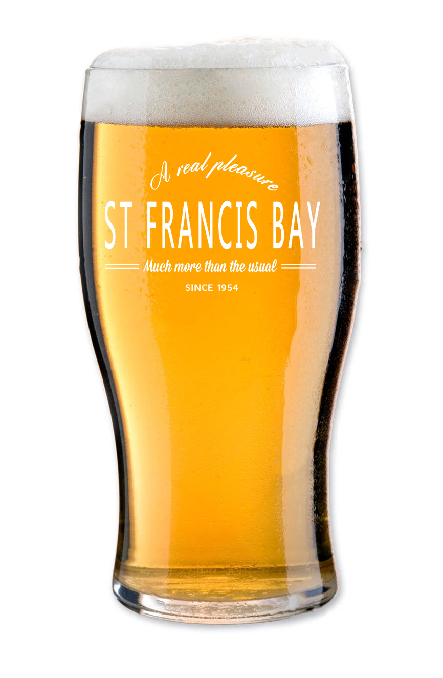 Beer Glasses - St Francis / Cape St Francis / Seal Point