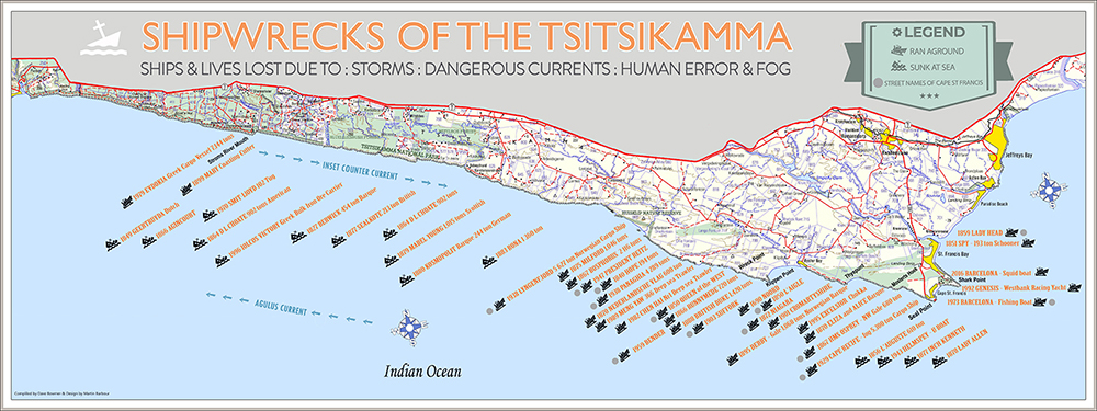 Shipwrecks of the Tsitsikamma